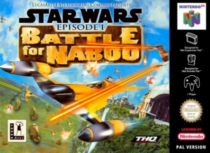 Star Wars - Episode I - Battle for Naboo [Europe] image
