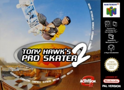 Tony Hawk's Pro Skater 2 [Europe] image