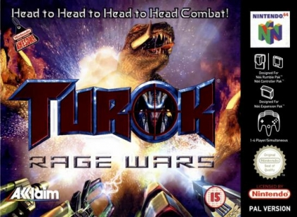 Last Retro Game You Finished And Your Thoughts - Page 8 Turok+-+Rage+Wars+(Europe)-image