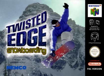 Twisted Edge Snowboarding [Europe] - Nintendo 64 (N64) rom télécharger |  WoWroms.com