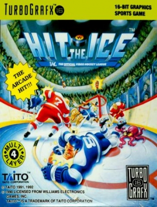 Hit The Ice Vhl The Official Video Hockey League Usa Pc Engine