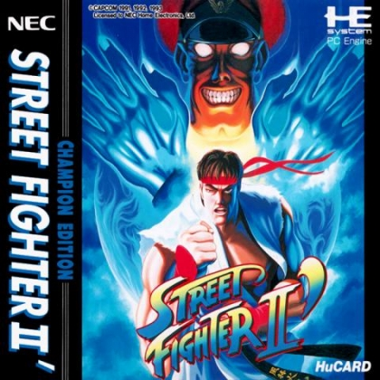 Street Fighter Ii Champion Edition Japan Pc Engine