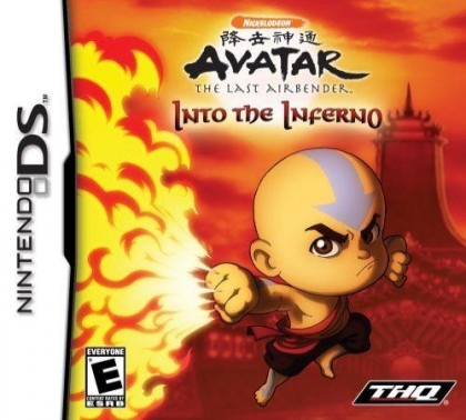 Avatar The Last Airbender Into The Inferno Nintendo Ds Nds