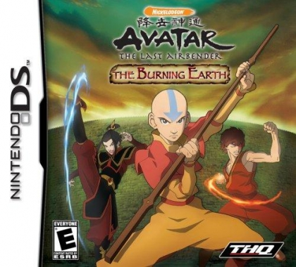 Avatar The Last Airbender The Burning Earth Nintendo Ds Nds