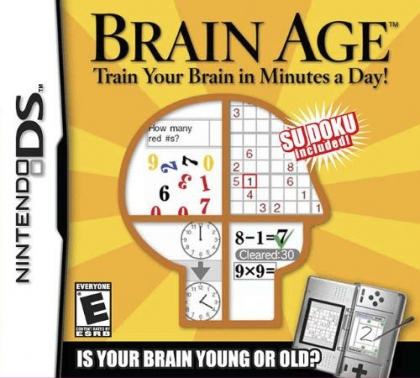 Brain Age - Train Your Brain in Minutes a Day! - Nintendo DS