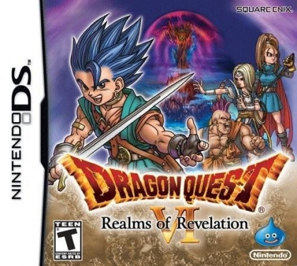 Dragon Quest VI - Realms of Revelation - Nintendo DS (NDS