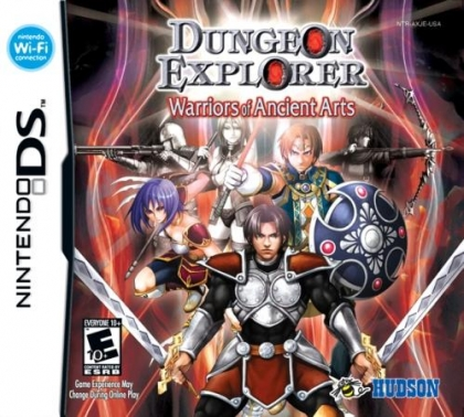 Dungeon Explorer: Warriors of Ancient Arts - Nintendo DS