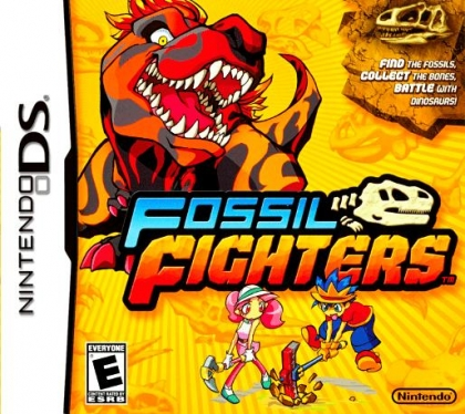 Fossil Fighters - Nintendo DS (NDS) rom download | WoWroms com