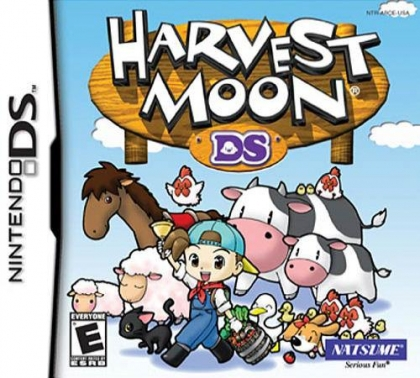 Harvest Moon DS - Nintendo DS (NDS) rom download | WoWroms com
