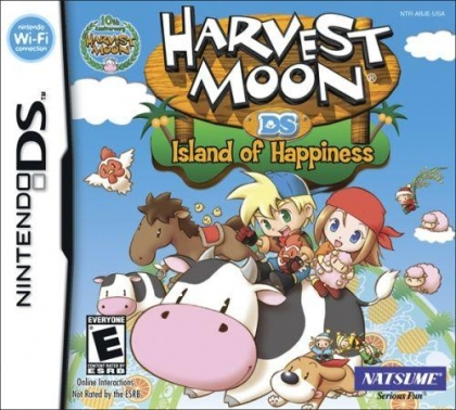 Harvest Moon DS: Island of Happiness - Nintendo DS (NDS) rom
