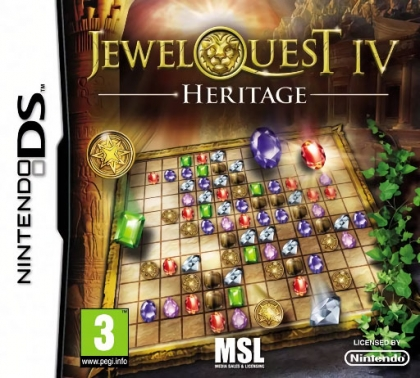 Jewel Quest IV : Heritage - Nintendo DS (NDS) rom download | WoWroms com