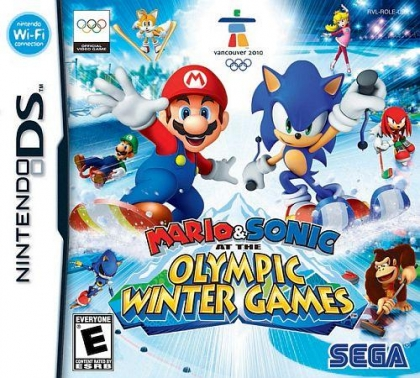 Mario & Sonic at the Olympic Winter Games - Nintendo DS (NDS