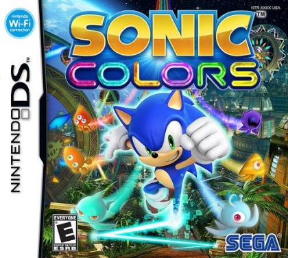 Sonic Colors - Nintendo DS (NDS) rom download | WoWroms com