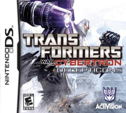 Transformers - War for Cybertron - Decepticons - Nintendo DS