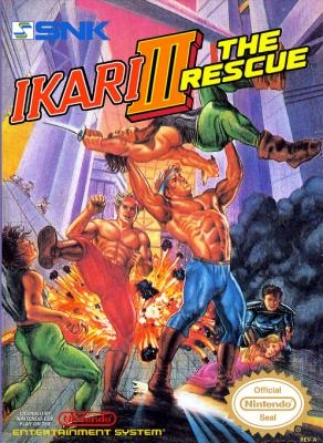 Ikari III : The Rescue [USA] image