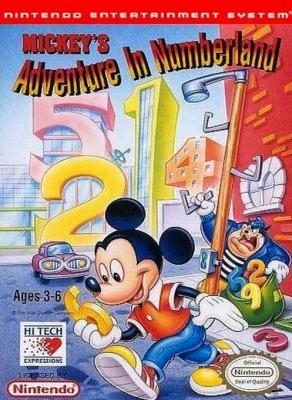 Mickey's Adventure in Numberland [USA] image