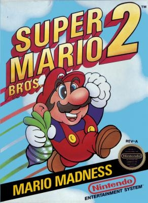 Super Mario Bros  2 - Nintendo Entertainment System (NES