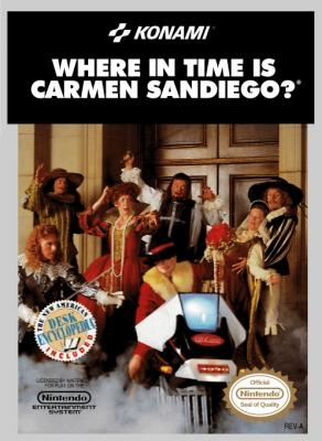 Where in Time is Carmen Sandiego? [USA] image