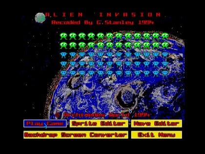 Alien Invasion (1994)(Archimedes World) image