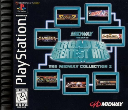 Arcade's Greatest Hits - The Midway Collection 2 (Clone) image