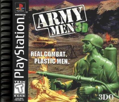 Army Men 3D - Playstation (PSX/PS1) iso download | WoWroms com