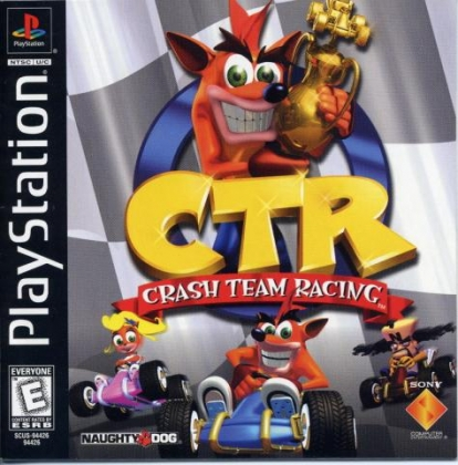 CTR : Crash Team Racing (Clone) - Playstation (PSX/PS1) iso