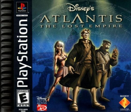 Disney's Atlantis : The Lost Empire (Clone) - Playstation (PSX/PS1