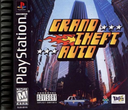 Grand Theft Auto (Clone) - Playstation (PSX/PS1) iso