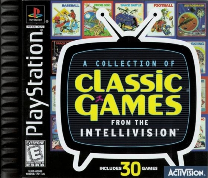 Intellivision Classic Games (Clone) - Playstation (PSX/PS1