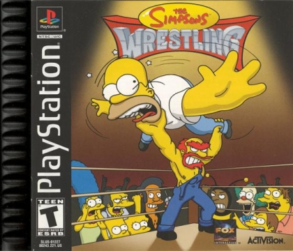 The Simpsons Wrestling (Clone) - Playstation (PSX/PS1) iso