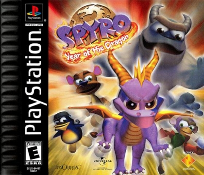 Spyro: Year of the Dragon - Playstation (PSX/PS1) iso