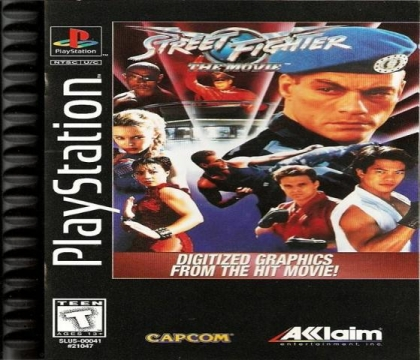 Street Fighter The Movie Playstation Psx Ps1 Iso Download Wowroms Com