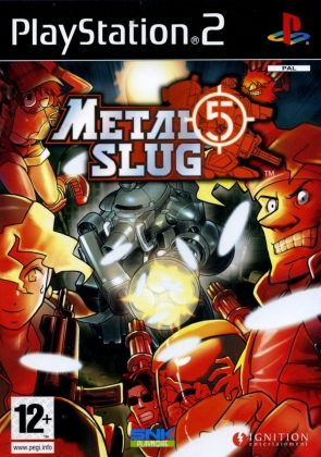 METAL SLUG 5 - Playstation 2 (PS2) iso download | WoWroms com