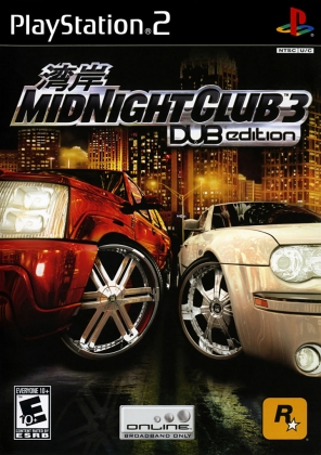 MIDNIGHT CLUB 3 : DUB EDITION REMIX - Playstation 2 (PS2) iso