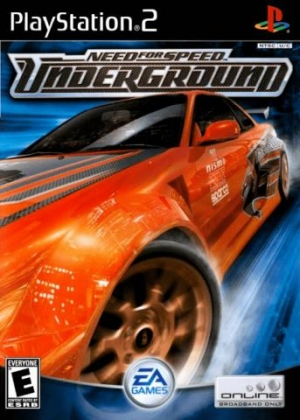 NEED FOR SPEED UNDERGROUND - Playstation 2 (PS2) iso