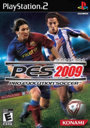 PRO EVOLUTION SOCCER 2009 [USA] - Playstation 2 (PS2) iso