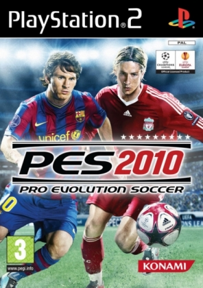 PRO EVOLUTION SOCCER 2010 [USA] - Playstation 2 (PS2) iso