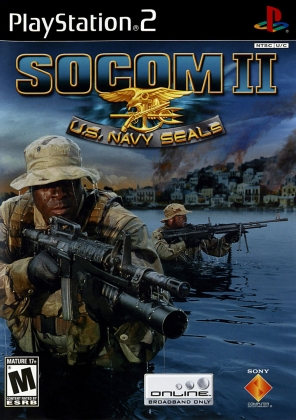 SOCOM II : U S  NAVY SEALS - Playstation 2 (PS2) iso