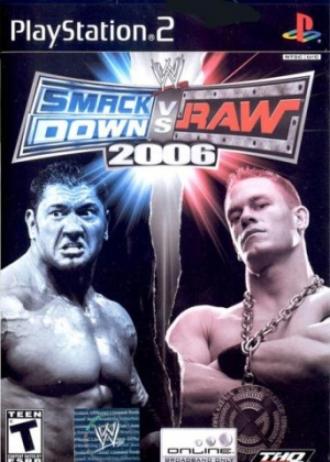 WWE SMACKDOWN! VS RAW 2006 - Playstation 2 (PS2) iso download | WoWroms.com