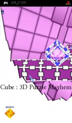 Cube 3d Puzzle Mayhem Playstation Portable Psp Iso Download