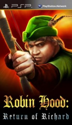 Resultado de imagen de Robin Hood The Return Of Richard PSP cover