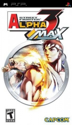 Street Fighter Alpha 3 Max - Playstation Portable (PSP) iso