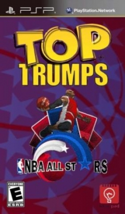 Resultado de imagen de Top Trumps NBA All Stars PSP Cover