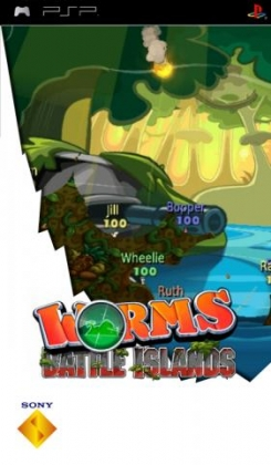 Worms : Battle Islands - Playstation Portable (PSP) iso download