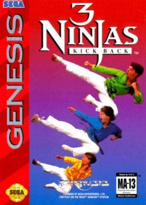 3 Ninjas Kick Back [USA] image