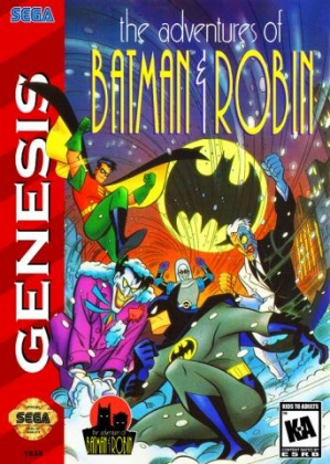 The Adventures Of Batman Robin Usa Sega Genesis Megadrive Rom Download Wowroms Com