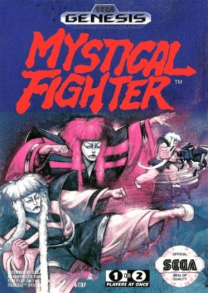 Resultado de imagem para Mystical Fighter - The Legend of Kabuki mega drive