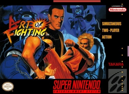 Art Of Fighting Usa Super Nintendo Snes Rom Download