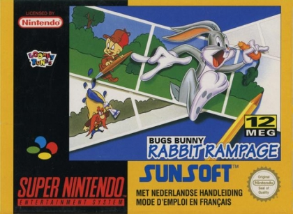 Bugs Bunny : Rabbit Rampage [Europe] image