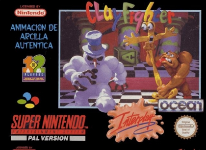 Clay Fighter [Europe] image